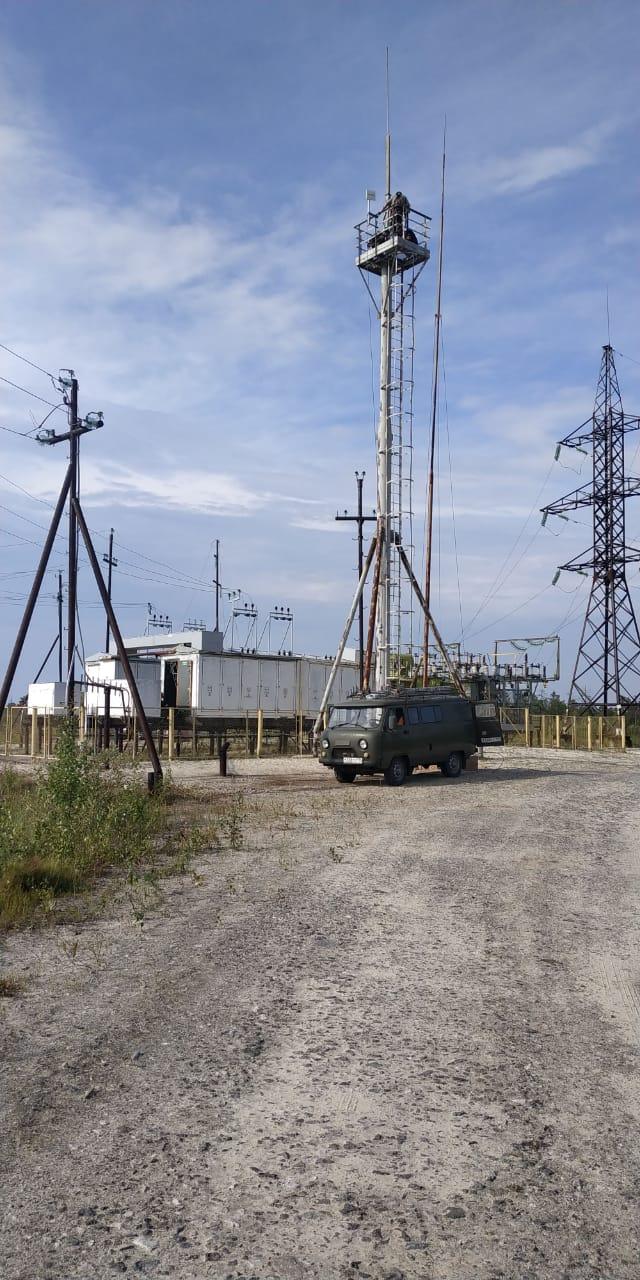 Строительство на объекте ПАО «Сургутнефтегаз»